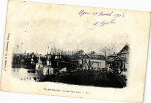 CPA Ste-LIVRADE-Pont (264028)