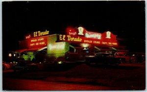 Milwaukee, WI Postcard EL DORADO The Cadillac of Eating Houses Roadside 1950s