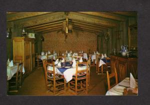 QC Chez Les Filles Du Roy La Grange Restaurant Montreal Quebec Carte Postale
