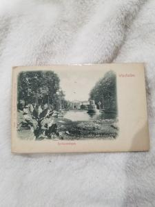 Antique Postcard, Wiesbaden, Kurhausanlagen