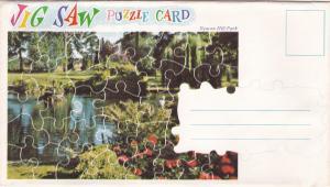 Beacon Hill Park , B.C. , Canada , 50-60s ; Puzzle Postcard