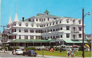 The Colonial Hotel Cape May New Jersey 1950s Cars