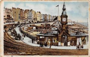 Brighton, Aquarium, Clock Tower, Carriages, Animated