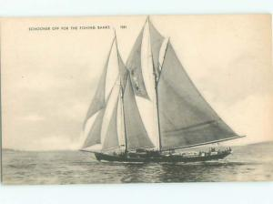 Divided-Back BOAT SCENE Great Nautical Postcard AB0379