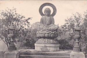 Belgium Mariemont Le grand Bouddha