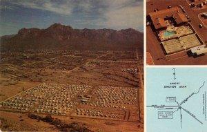 Apache Junction Arizona Rock Shadows Travel Trailer Resort Postcard AA23288