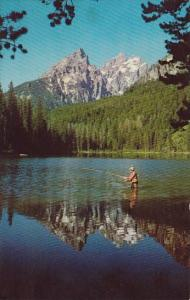 String Lake Grand Teton National Park Wyoming 1968