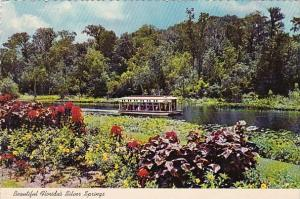 Florida Silver Springs Quiet Electrically Propelled Glass Bottom Boats 1978