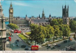 England London Houses Of Parliament and Parliament Square 1975