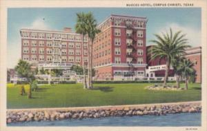 Texas Corpus Christi Nueces Hotel Curteich