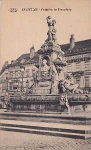 BRUXELLES, Fontaine de Brouckere, Belgium, 00-10s