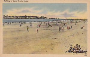 Massachusetts Lynn Bathing Scene