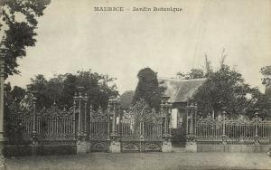 mauritius, Jardin Botanique, Botanical Gardens (1899) Messageries Maritimes
