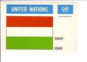 Hungary, Flag, United Nations