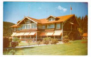 Evergreen Park Resort, The Main Lodge, Bowen Island, British Columbia, Canada...