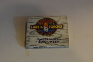 Lake of the Torches Resort and Casino Lac du Flambeau Wisconsin Matchbook