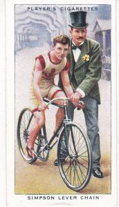 Cigarette Cards Players CYCLING No 19 Simpson Lever Chain