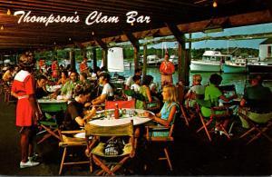 Massachusetts Cape Cod Wychmere Harbor Thompson Brothers Clam Bar