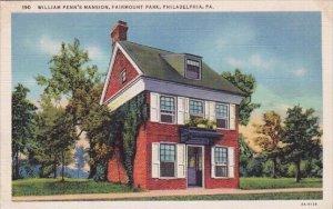 Williams Penns Mansion Fairmount Park Philadelphia Pennsylvania