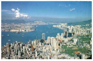 From The Peak Kowloon And Hong Kong Postcard PC1055