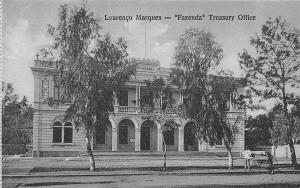 Mozambique Mozambic Maputo Lourenco Marques Fazenda Treasury Office