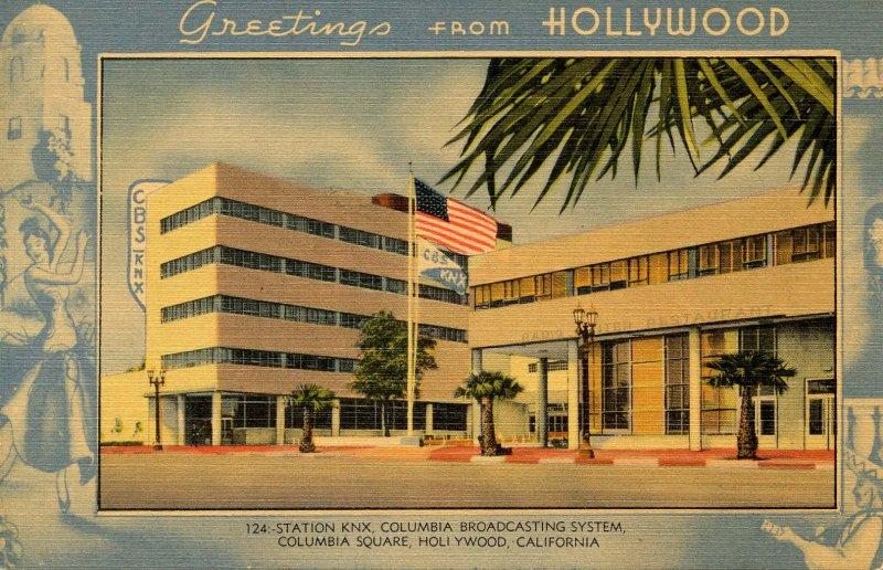 CA - Hollywood. CBS, Columbia Square