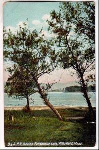 B & A RR Series, Pontoosuc Lake, Pittsfield MA