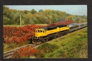 NY Susquehanna Railroad Train WASHINGTON MILLS NEW YORK