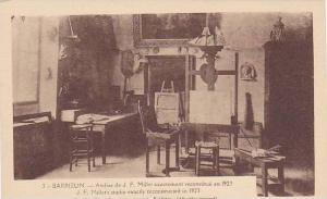 Interior, Atelier De J. F. Millet Exactement Reconstitue En 1923, Barbizon (S...