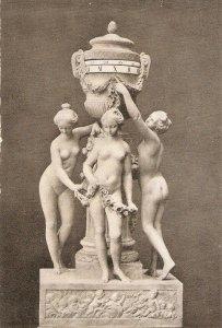 Falconnet. The Three Graces fine art, sculpture, vintage French PC