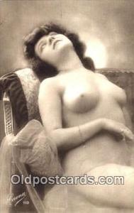 Reproduction Nude Nudes Postcard Postcards # 278 Unused