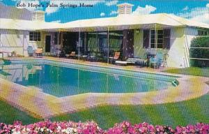 Bob Hope's Palm Springs Home With Pool Palm Spring California 1965