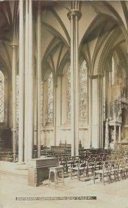 Postcard UK England Salisbury, Wiltshire cathedral lady chapel