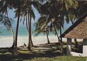 Hut on coast , Kenya , PU-1978
