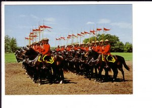 Royal Canadian Mounted Police, RCMP, Musical Ride, Drilling