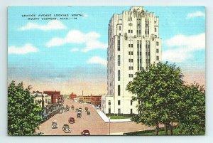 Gratiot Avenue Mount Clemens Michigan MI Postcard