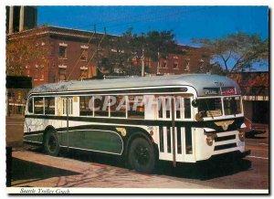 Modern Postcard Seattle Trolley Coach