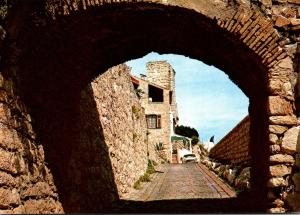 France Antibes Montee Barbacane