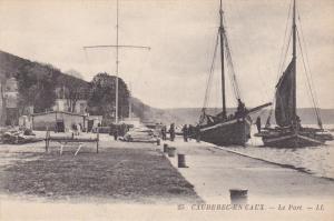 CAUDEBEC EN CAUX, Seine Maritime, France, 1900-1910´s; Le Port