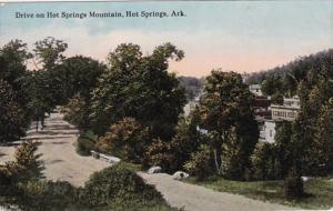 Arkansas Hot Springs Drive On Hot Springs Mountain Curteich