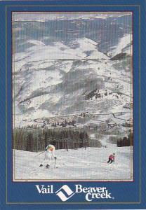 Colorado Skiers At Beaver Creek