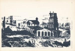 Lawrence KS, Kansas - Eldridge Hotel after Quantrill's Raid in 1863