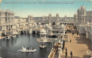 Franco-British Exhibition London England 1908 Postcard View of Court of Honour