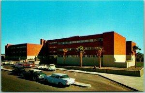 1950s University of Arizona Postcard Huachuca and Kaibab Halls Tucson Unused