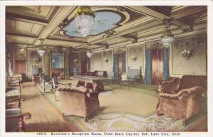 Interior, Governor's Reception Room,  Utah State Capitol,  Salt Lake City,  U...