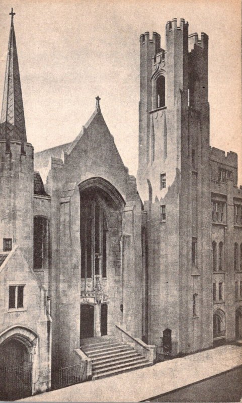 New York City St Luke's Lutheran Church
