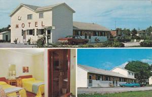 White Swan Motel , St Stephen , New Brunswick , Canada , 50-60s