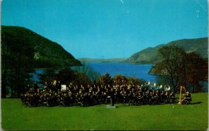 Postcard NY New York West Point US Military Academy Band Unposted