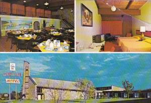 Canada New Brunswick Bathurst Fundy Line Motel 1984