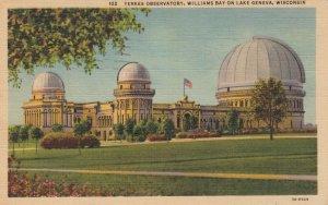 LAKE GENEVA , Wisconsin, 30-40s; Williams Bay, Yerkes Observatory